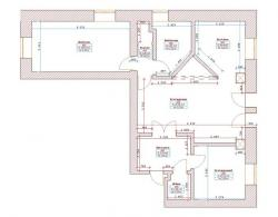 Платформа: Visio 2003.  Чертежи автоматизации квартиры, концепция.